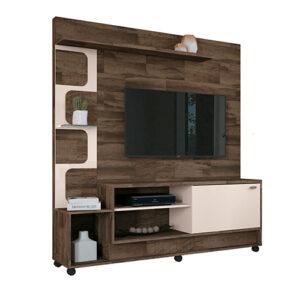 """Modular Home TV 50"""" con estante de vidrio Deck"""